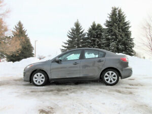 2012 Mazda 3 Sedan w/ just 108K!! CERTIFIED & 1 YEAR WARRANTY!!