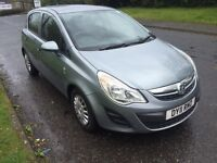 VAUXHALL CORSA 1.3CDTI ECO FLEX 2011 11 REG + MOT AUGUST 2016 + 1 COMPANY FROM NEW + FSH + 2 KEYS