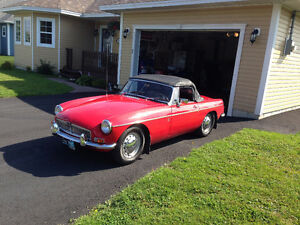 1967 MGB FOR SALE