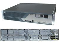 Router Gig Cisco 3825, Advance IP Services, 512M RAM, 128M Flash
