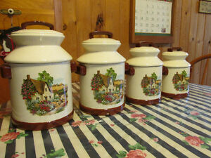 Lovely Ceramic Cannister Set