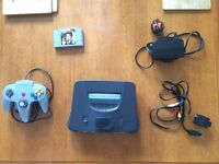 Nintendo 64 with Goldeneye & 1 control pad. Great condition!