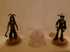 Disney Infinity Play Set Pack - Lone Ranger Figures
