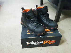 New Timberland Pro 9.5 Steel toe Waterproof Shoes for cheap