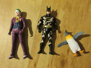 DC Comics Toy Action Figure JOKER BATMAN PENGUIN Vintage Kenner