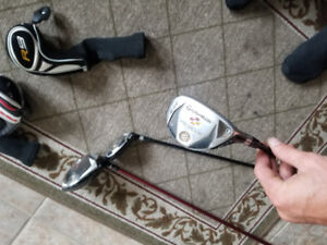 Golf driver and hybrids for sale Taylor made