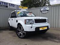 2011 Land Rover Discovery 4 3.0 SDV6 Auto Landmark 4x4 White