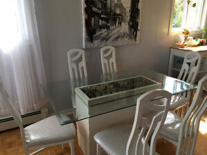 White Dining Room Set for sale