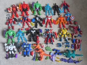 Huge Collection Marvel Mashers, Complete w/ Accessories 21 Total