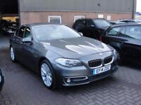 2014 14 BMW 5 SERIES 2.0 520D LUXURY 4D AUTO 181 BHP DIESEL