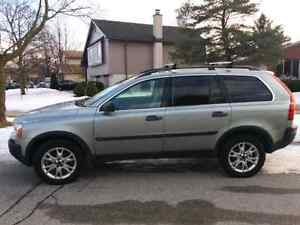 2004 Volvo xc90 family SUV T6 132000miles from USA AWD