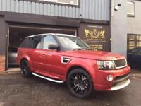 Land Rover Range Rover Sport 3.6TD V8 2012 AUTOBIOGRAPHY RED EDITION