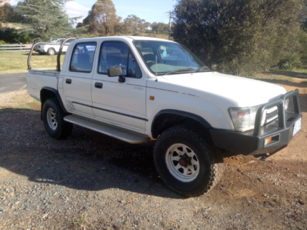1997 Toyota Hilux 4×4 Bungendore Queanbeyan Area Preview