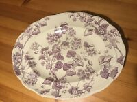 """1940s / 1950s Alfred Meakins Meat Platter / Plate - large (16 1/2"""" x 12 1/2"""")"""