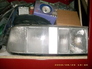 FORD MERKUR XR4TI REAR WHITE TAILLIGHTS NEW