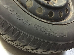 225/60/16''HANKOOK I PIKE  5/108  STEEL RIMS X4 West Island Greater Montréal image 3