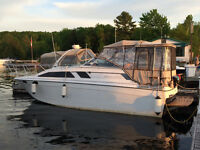 Bayliner Ciera 2750 great starter boat without investing a lot.