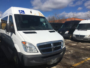 2009 Dodge Sprinter WHEEL CHAIR  VAN call today 12999