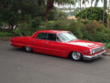 Wedding car hire 1963 Chevrolet impala