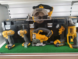 Dewalt 6 pc Tool Set DCK677L3T