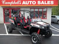 WOW!! 2013 RZR 900 XP 4  LOW MILAGE !!