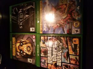 Xbox One Games (trade for PS4 Games)