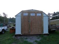 10' x 14' Metal Storage Shed perfect for UTV, Snowmobile's, etc