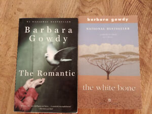 Barbara Gowdy books $4 each or $6 for both