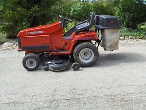 Troy-Bilt Commercial Lawn Tractor and Snowblower