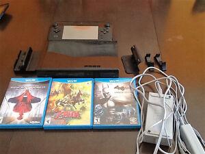 Wii U 32 GO+3 JEUX A BLAINVILLE