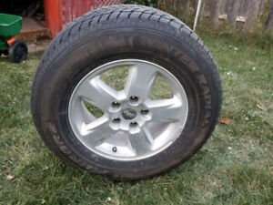 Grand Cherokee Winter Tires and Mags