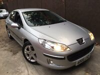 2005 PEUGEOT 407 ZENITH 2.0 HDI 6 SPEED NAVIGATION FULL LEATHER INTERIOR R/PARKING AID ALLOYS AC CD