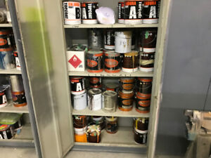 Endura & Other Paints, Spray painting equipment for sale.