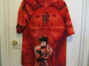 mecca clothing co. anime design shirt street fighter