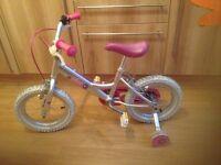 Girls starter bike