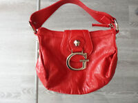 sacoche rouge Guess / red Guess purse