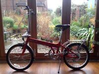Dahon Vitesse unisex folding bike