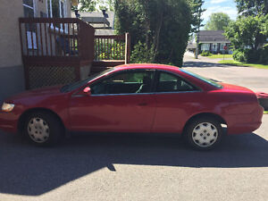 $1000 1998 Honda Accord Coupe (2 door) AS-IS