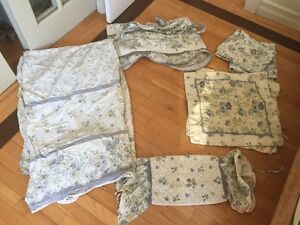 Bedding Set including curtains