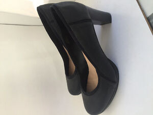 Women's Leather High 3 Inch Heels - NEW