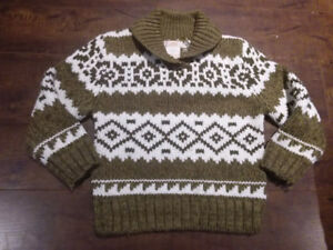 EXCELLENT CONDITION: Joe Fresh Toddler Boys Sweater Size 3 Years