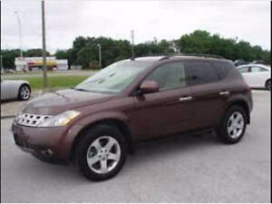 Good Condition 2004 Nissan Murano SE AWD - with Remote Starter