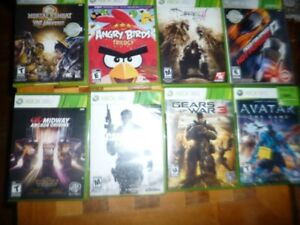 8 xbox 360 games for cheap