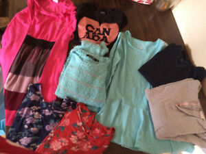 Girls clothes lot size 14