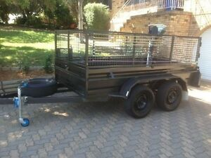 10x5 Tandem Box , 10x5 Enclosed, 11x7 Table Top Trailer for HIRE Greenvale Hume Area Preview