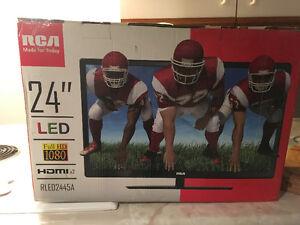 """24"""" RCA LED TV (Brand New)"""