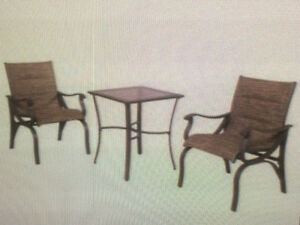 Hampton Bay 3 piece Balcony Set !