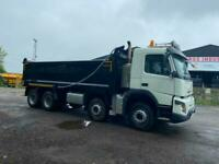 Volvo FMX TIPPER 8X4 THOMPSON BODY , WEIGHER , watch the video here