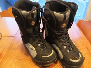 Child's Size 4 Snowboard Boots - New condition