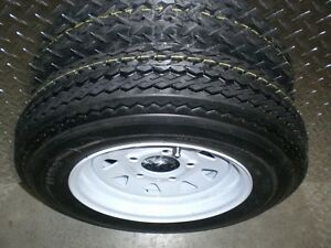 "ST 4.80-12 - 12"" TRAILER TIRES on RIMS - CLENTEC London Ontario image 1"